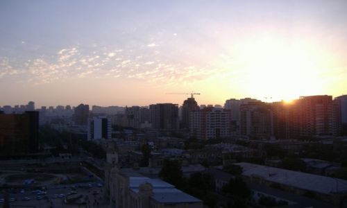 Zdjecie AZERBEJDżAN / Baku / Baku / Wieczór w Baku