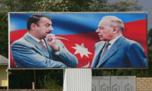 Zdjecie AZERBEJDżAN / Cały Azerbejdżan / Cały Azerbejdżan tonie w tej sztuce... / Alijewy dwa