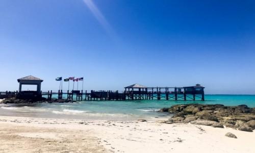 Zdjęcie BAHAMY / Bahamas / Nassau / Cable Beach, Bahamas