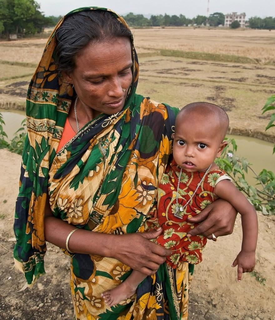 Zdjęcia: Birisiri, Dhaka Division, Matka z córką , BANGLADESZ