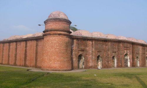 Zdjęcie BANGLADESZ / Khulna / Bagerhat / Duży meczet