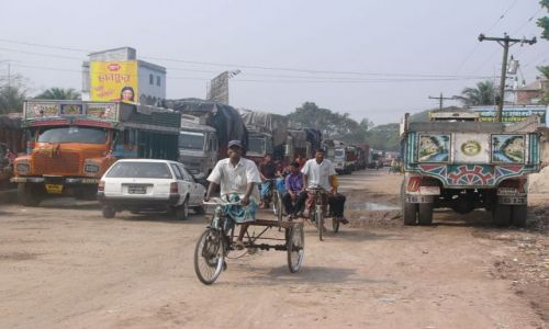 BANGLADESZ / Jessore / Benapole / Przejscie graniczne