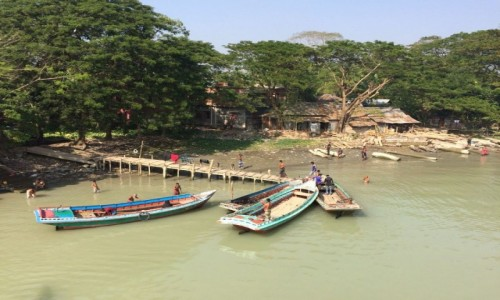 BANGLADESZ / Bangladesz / Delta / Delta Gangesu