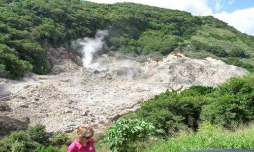 Zdjecie BARBADOS / Karaiby / Santa Lucia (Karaiby) / zapadły wulkan    Santa Lucia