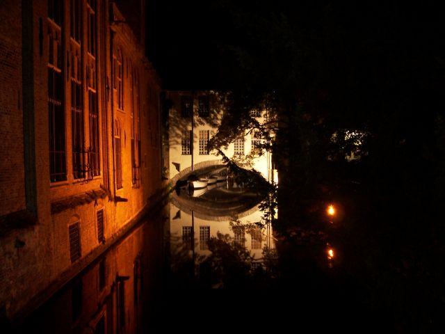 Zdjęcia: Brugges, Brugia, Brugia nocna, BELGIA