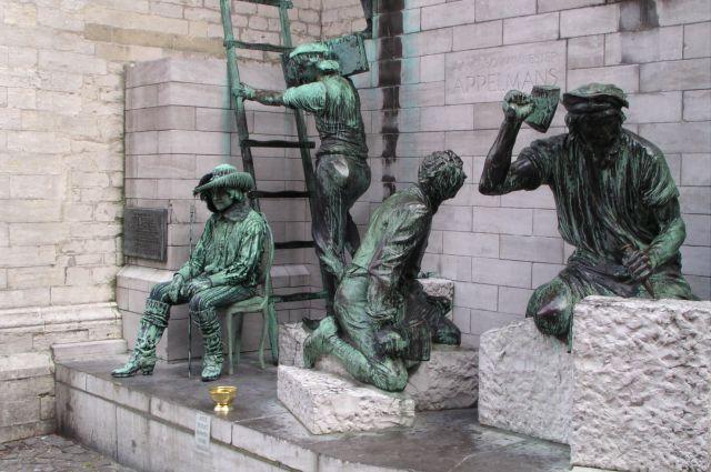 Zdjęcia: Bruksela, Ciężka praca, BELGIA