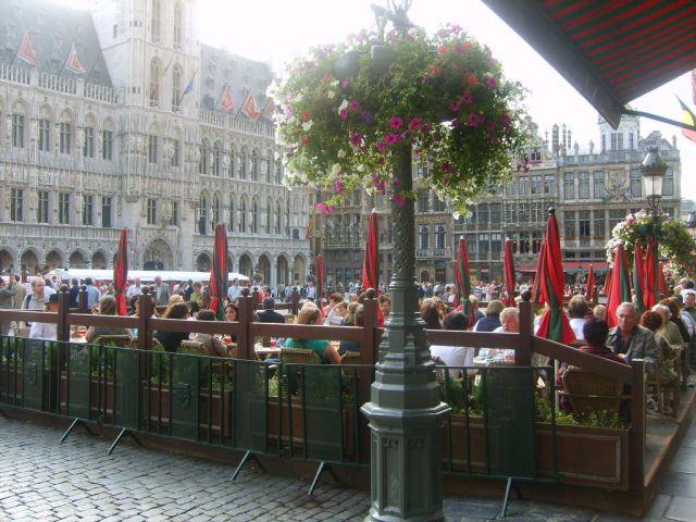 Zdj�cia: Bruksela, Na Rynku, BELGIA