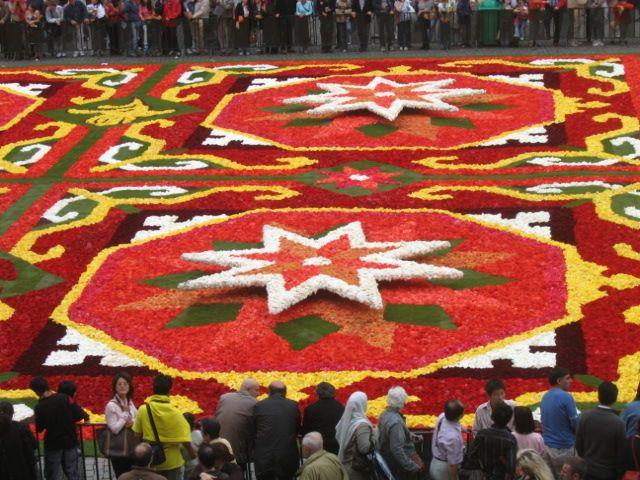 Zdjęcia: bruksela, dywan kwiatowy, BELGIA