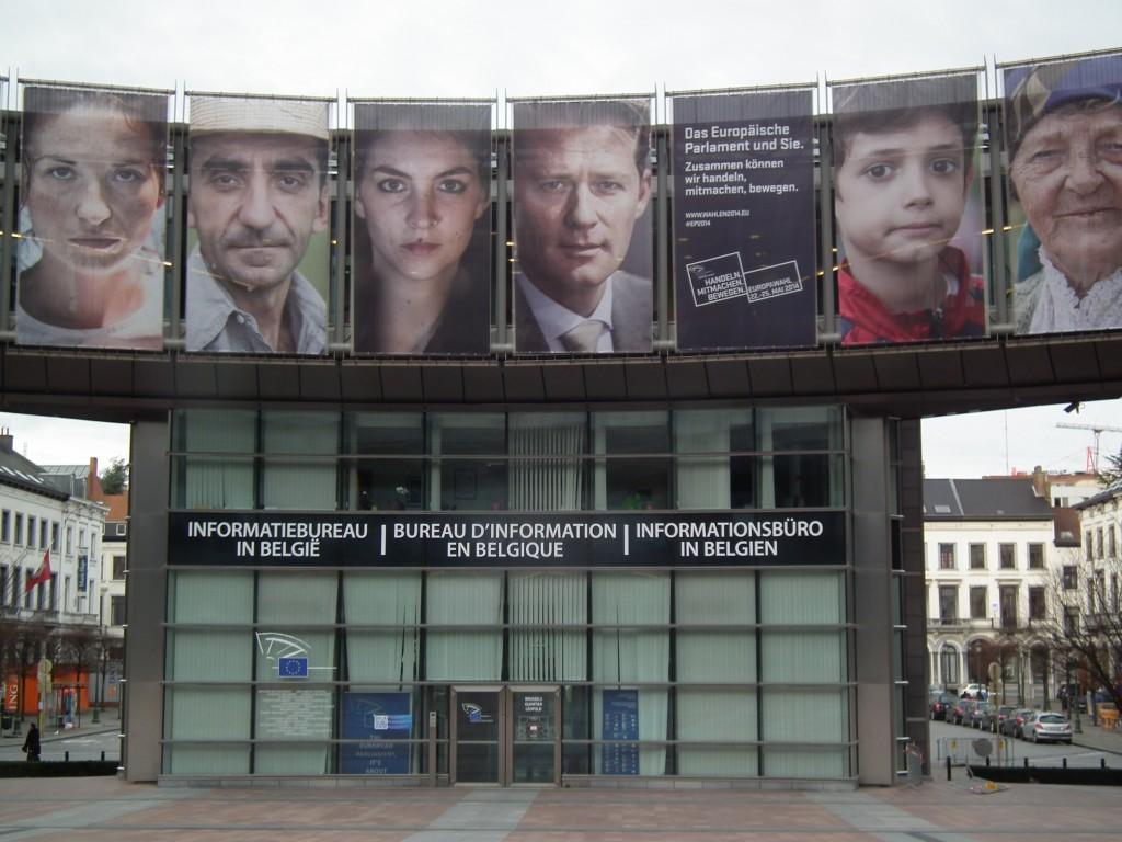 Zdjęcia: Bruksela, Parlament Europejski, BELGIA