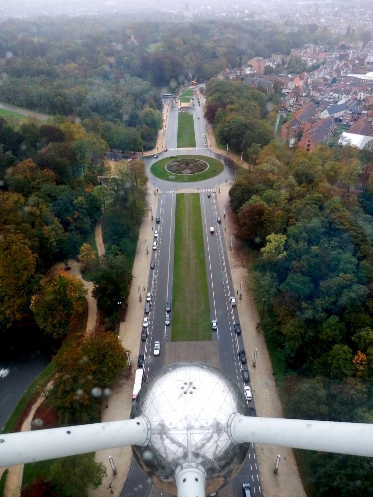 Zdjęcia: Atomium, Bruksela - Laeken, Konkurs, BELGIA