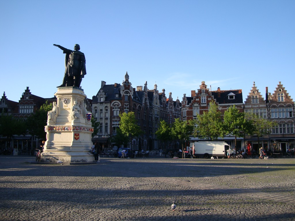 Zdjęcia: Gandawa, Flandria, Stary rynek, BELGIA