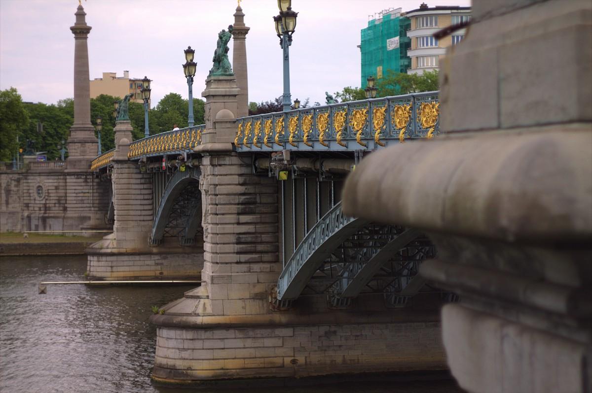 Zdjęcia: Liege, Walonia, Stary most, BELGIA