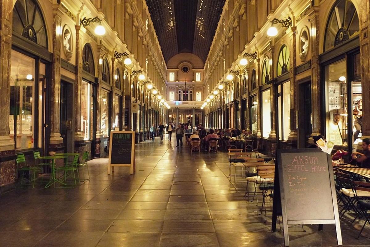 Zdjęcia: Bruksela, ..., Royal Gallery of Saint-Hubert, BELGIA