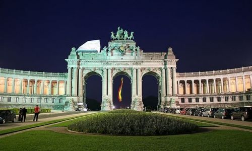 Zdjęcie BELGIA / - / Bruksela / Co to za obiekt?