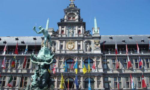 BELGIA / - / centrum miasta / Antwerpia