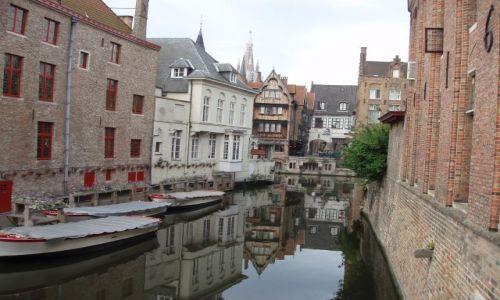 BELGIA / Polnocna Belgia / centrum miasta / Brugia