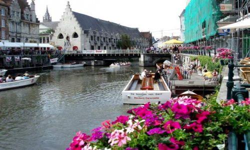 Zdjęcie BELGIA / Polnocna Belgia / centrum Gandawy / Gandawa