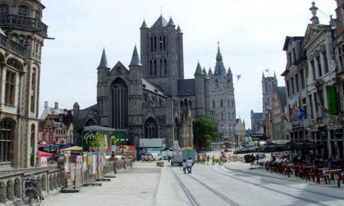 BELGIA / Polnocna Belgia / centrum Gandawy / Gandawa