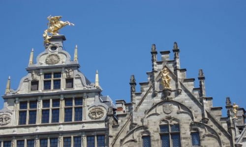 BELGIA / Polnoc Belgii / miasto Antwerpia / Antwerpia