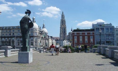 BELGIA / Polnocna Belgia / miasto Antwerpia / Antwerpia