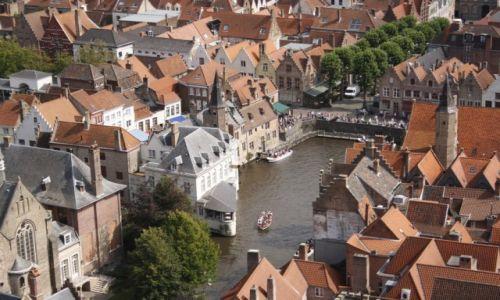 Zdjęcie BELGIA / Flandria  / Brugia / Flamandzka Wenecja