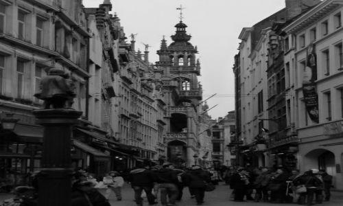 Zdjecie BELGIA / Bruksela / Bruksela / Grand Place inaczej.