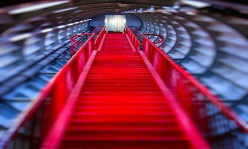 Zdjęcie BELGIA / Bruksela / Atomium / Schody w Atomium cz.2
