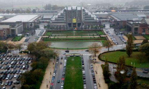 Zdjecie BELGIA / Bruksela - Laeken / Atomium / Konkurs