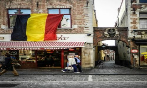 Zdjecie BELGIA / Flandria Zachodnia  / Brugia  / Brugia