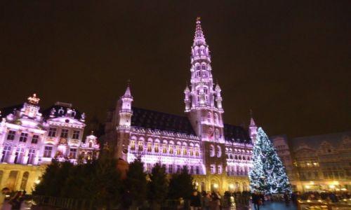 Zdjęcie BELGIA / Bruksela / Bruksela / Bruksela nocą