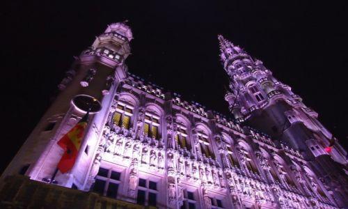 Zdjęcie BELGIA / Bruksela / Bruksela / Bruksela nocą (4)
