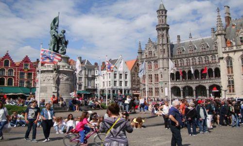 Zdjęcie BELGIA / Północno- zachodnia Belgia / Brugia / Starówka