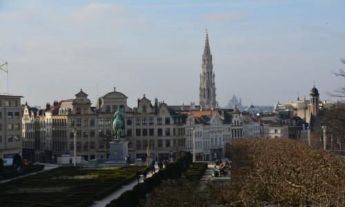 Zdjecie BELGIA / Stolica / Bruksela / Widok na Stare Miasto