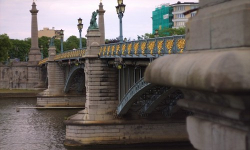 Zdjęcie BELGIA / Walonia / Liege / Stary most
