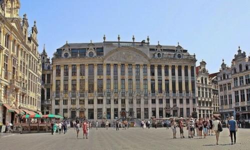 BELGIA / - / Bruksela / Na Wielkim Placu