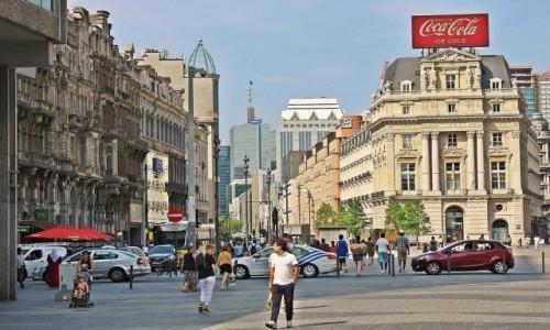 Zdjecie BELGIA / - / Bruksela / Ulica