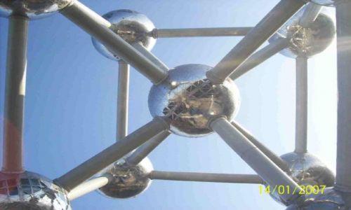 Zdjęcie BELGIA / Belgia / Bruksela / Atomium