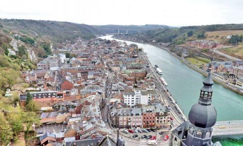Zdjęcie BELGIA / Namur / Ardeny / Dinant / Z twierdzy na skale