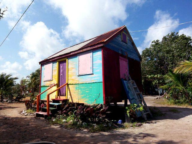 Zdjęcia: Gales Point, kreolski domek na wybrzezu, BELIZE