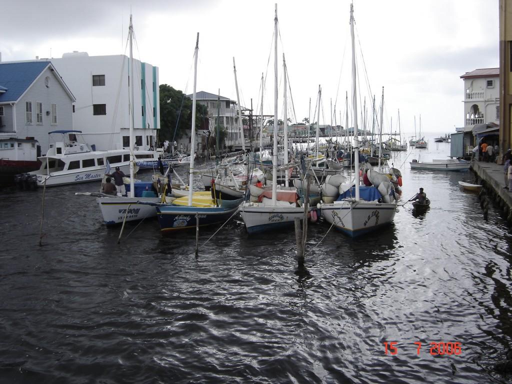 Zdjęcia: Belize City, Belize City, Port w Belize City, BELIZE
