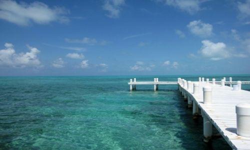 Zdjecie BELIZE / - / morze karaibskie / BELIZE wyspa na morzu karaibskim
