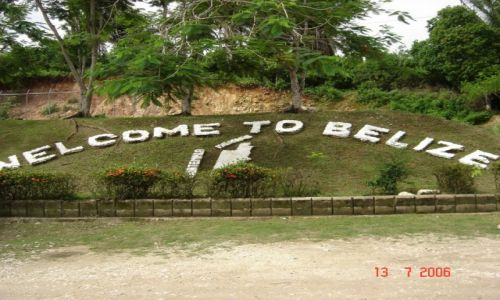 Zdjecie BELIZE / Belize / Belize / Na granicy