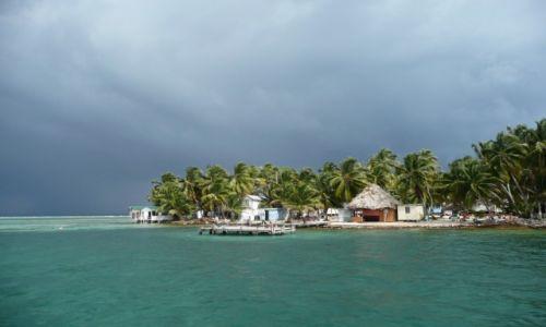 Zdjecie BELIZE / Wielka Rafa Belize / przy wyspie / South Water Cay