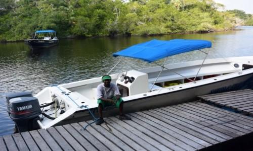 Zdjecie BELIZE / - / New River / Rejs łodziami po New River - najdłuższej rzece Belize