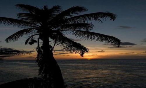 Zdjęcie BELIZE / Belize / Caye Caulker / Belizian Sunset