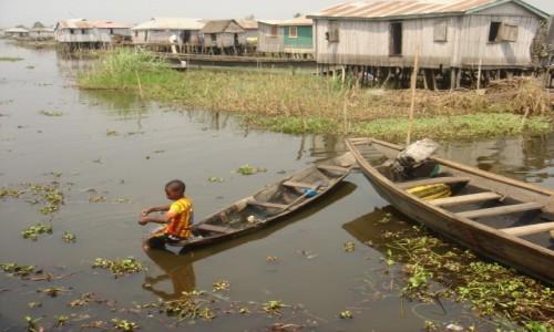 Zdjecie BENIN / - / Ganvie / Afryka zachodnia