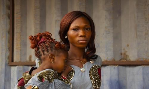 Zdjecie BENIN / Dahomey / Dahomey / Pieknosc z Afryki