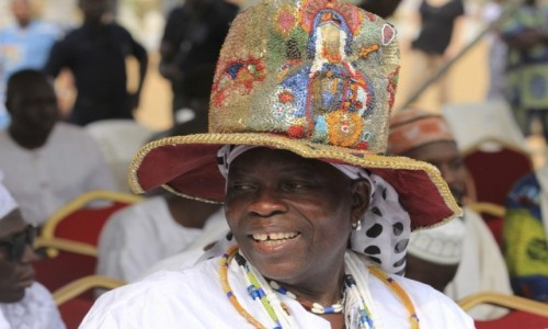 Zdjecie BENIN / Ouidah / Ouidah / Głòwny Szaman Voodoo