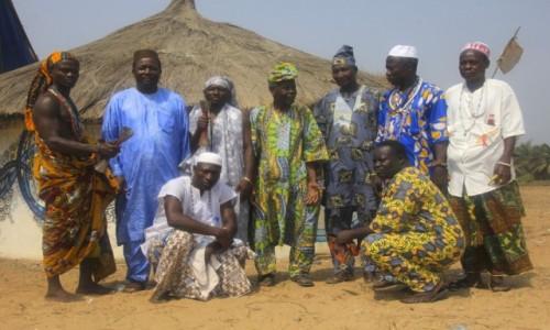 Zdjecie BENIN / Ouidah / Ouidah / Adepci Voodoo