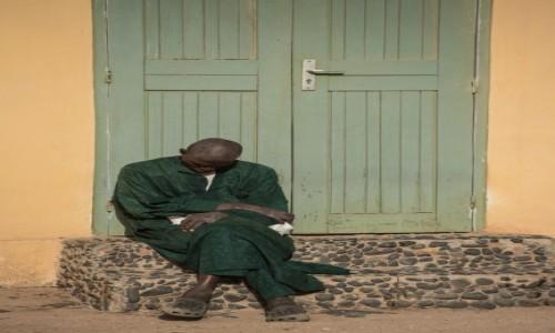 BENIN / Południowy / Cotonou / Zmęczony